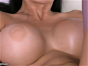 Aletta Ocean frolicking her private vibrator