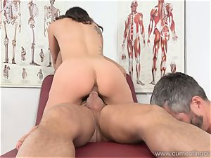 Jade Nile Has Her spouse suck trouser snake and see Her