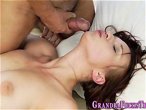 19yo takes grandads cum