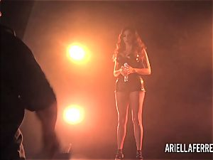 Behind the sequences glamour shoot with Ariella Ferrera