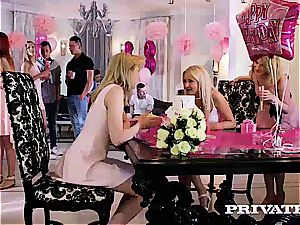 Anny Aurora and Alexis Crystal celebrate With an fucky-fucky