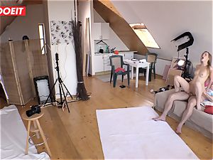 Czech teenager cutie Alexis Crystal first-ever porn Shoot